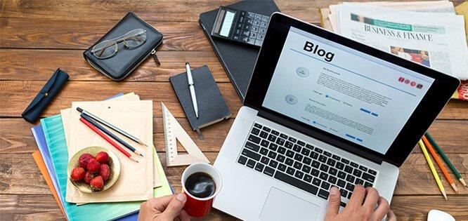 Escrevendo um artigo para um blog