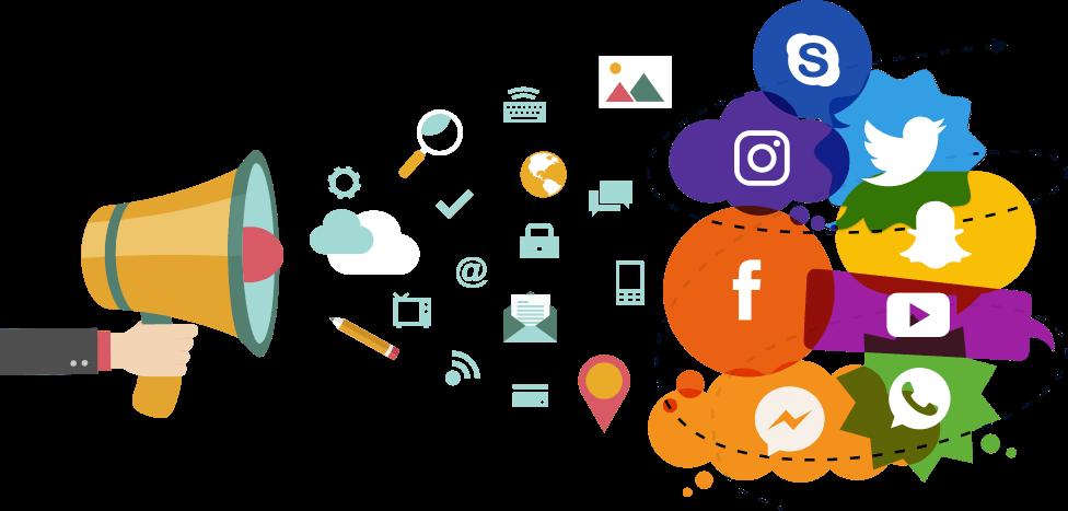 Redes Sociais para sites e lojas